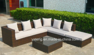 Foshan New Design Commercial Corner Rattan Sofa Using Outdoor or Garden (YT255) pictures & photos