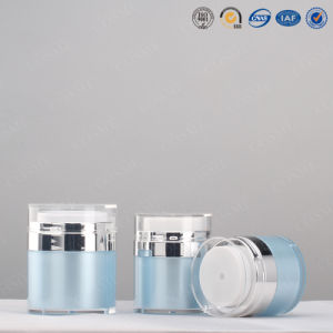 100g 200g High Quality Acrylic Double Wall Cosmetic Jar for Cream pictures & photos