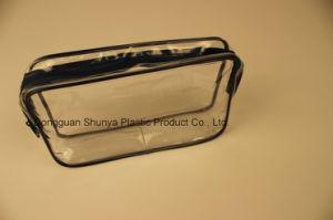 PVC Black Nylon Zipper Bag PVC Gift Bag Promotional Bag pictures & photos