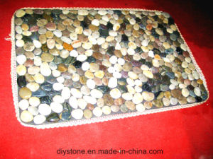 Mixed Color Custom Floor Mat Decorative Stone pictures & photos