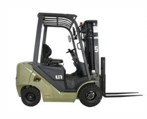 1.5t 1500kg Un Diesel Forklift with Higher Lifting Mast pictures & photos