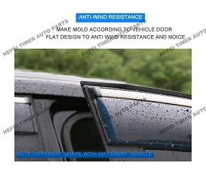PC Injection Mould Car Rain Visor Window Visor for Chevrolet Aveo Hatchback2011 pictures & photos