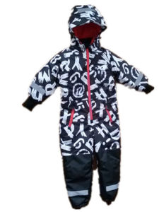 Letter Hooded Reflective Waterproof Jumpsuits/Overall/Raincoat for Baby/Children pictures & photos