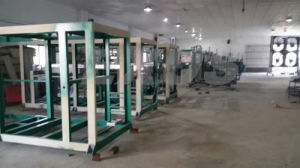 PLC Controlled Full Auto Roll Material Fed Plastic Vacuum Forming Machine pictures & photos