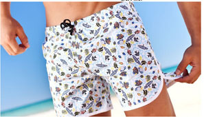 Garment Beach Wear Swimshorts Printed Pattern Wholesale China pictures & photos