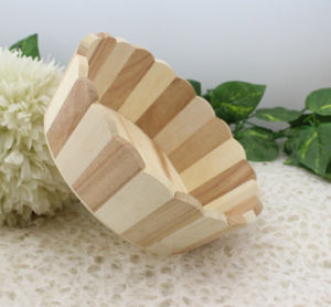 Nature Pine Wood Washbowl for Hotal pictures & photos