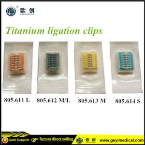 Laparoscopic Disposable Titanium Clips Lt 400 Lt300 Lt 200 Lt100 pictures & photos