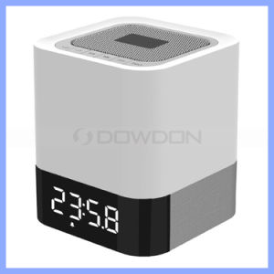 Mini Home Audio Music Player with Bass and Adjustable Brightness LED Lights Wireless Bluetooth Stereo Speaker pictures & photos