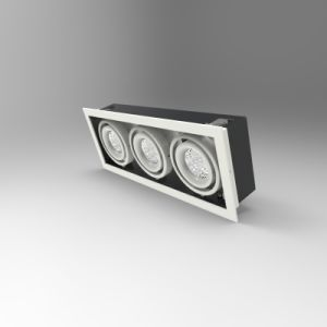 High Quality Aluminum Die-Casting Ceiling Light, CREE LED Grille Light 15wx3 COB
