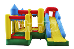 Super Castle Bouncer Inflatable Residential Bouncy Slide Qb102 pictures & photos