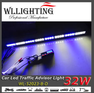 LED Traffic Directional Warning Light for Vehicle Blue White pictures & photos