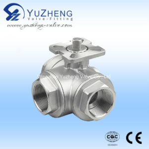 Stainless Steel T/L Type 3 Way Ball Valve pictures & photos