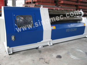 4 Roller Bending Machine W12-12X3000 pictures & photos