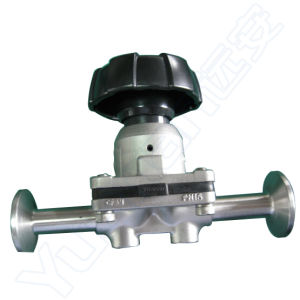Sanitary Stainless Steel Manual Diaphragm Valve for Pharma (YNF) pictures & photos