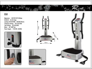 Crazy Fitness/Comercial Crazy Fit Massage/Body Building New Vibration Plate pictures & photos