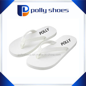 Sweet Sea Wedding Bridal White Slipper with Logo pictures & photos