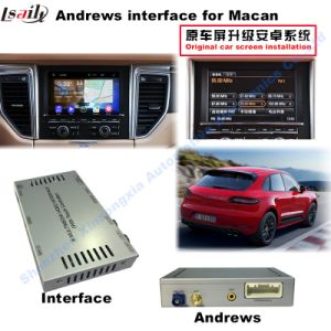 (10-15) Car Upgrade HD Multimedia GPS Navigation Android Video Interface for Porsche-Macan pictures & photos