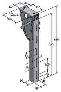 Side Guard Leg - Short