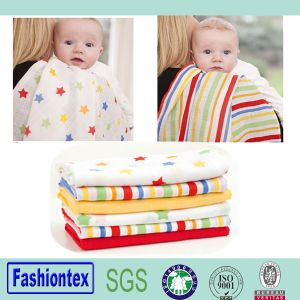 Baby Wholesale Reusable Muslin Swaddle Bamboo Blanket pictures & photos