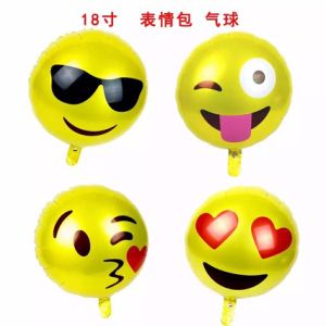 Children Gift Emoji Party Foil Balloon pictures & photos
