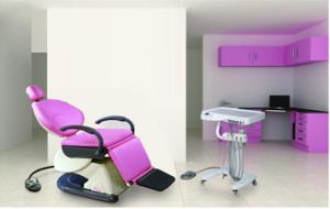 Dental Chair with Mobile Delivery Cart pictures & photos