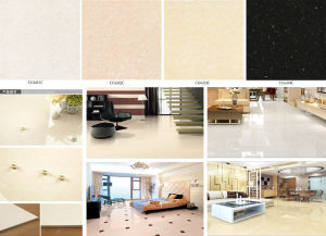 Crystal Porcelain Tile Ceramic Flooring Tile Polished Tile for Floor Decoration600*600 pictures & photos