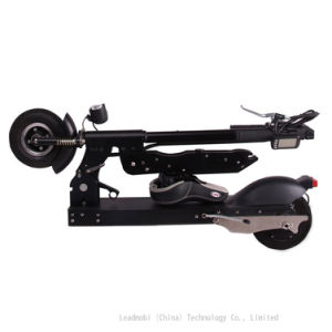 36V Folding Electric Scooter 2 Wheel Folded Electric Skateboard pictures & photos
