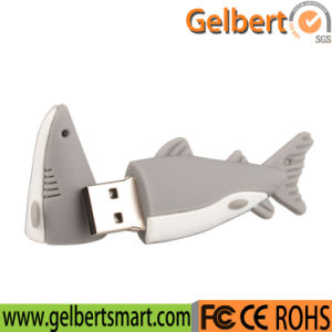 PVC Cartoon Shark 8GB USB 2.0 Flash Drive for Promotion pictures & photos