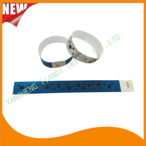 Tyvek Entertainment Custom Party VIP Paper ID Wristbands (E3000-1-89) pictures & photos