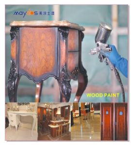 Maydos Non Toxic Lacquer 2k PU Polyurethane Wood Varnish for Outdoor Wood Furniture Protection pictures & photos