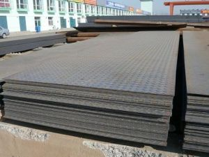 China Mills Supply Hot Rolled Chequered Steel Plate pictures & photos