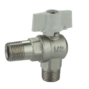 (HE-1131) Brass Ball Valve Pn30 with Wing Handle for Water, Oil