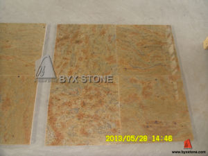 Kashmir Gold Granite Polished Tile for Wall and Floor pictures & photos