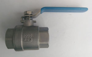 2PCS Stainless Steel 304/316 Thread Ball Valve pictures & photos