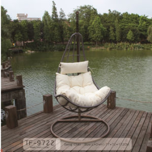 Modern Patio Furniture Hanging Egg Swing Chair Enjoy Peace and Beauty.