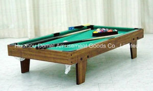 Mini Wood Billiard Table (DBT3B10) pictures & photos