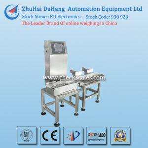 Bread Checkweigher with Double Rejection System pictures & photos