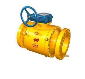 Q347f-64f Forged Steel Anti-Sulfur Fixed Sphere Ball Valve pictures & photos