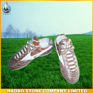 Granite Headstone in Sneaker Shaped pictures & photos