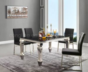 Modern Design Oak White Dining Table Sets on Sale pictures & photos