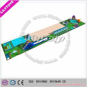 Above Ground Swimming Pool Metal Frame Swimming Pool for Water Park (Lilytoys-wp-052) pictures & photos