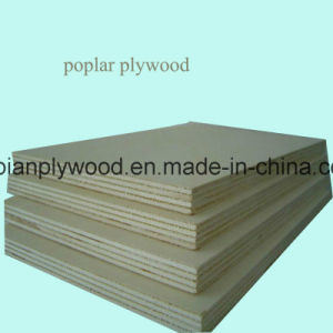 4*8FT Poplar Core Birch Commercial Plywood for Furniture pictures & photos