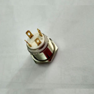19mm Short Body Ring LED Switch with Stainless Steel Crust pictures & photos