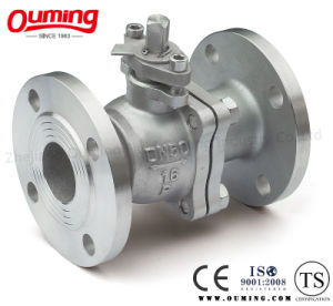 2 PC Split Body Flanged Ball Valve pictures & photos