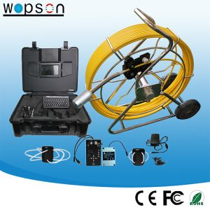 Pipe Inspection Crawler Robot with 50mm Self Level Camera pictures & photos