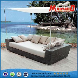 modern pe rattan garden furniture daybed - Garden Furniture Day Bed