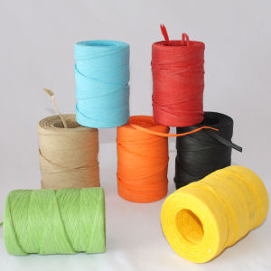Colorful Paper Raffia Rope Wholesale pictures & photos