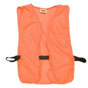 Custom Cheap Orange Reflective Safety Vest (UF083W) pictures & photos
