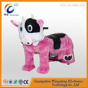 Small Moving Animal Ride Use Plush Battery Ride for Kiddie pictures & photos