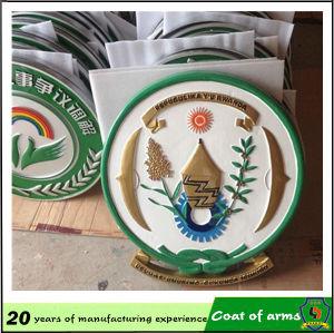 Custom 3D Rwanda Metal Emblem pictures & photos